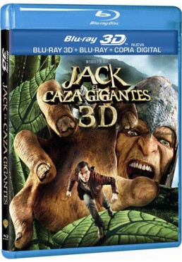 Jack El Caza Gigantes (Blu-Ray 3d + Blu-Ray + Copia Digital) (Jack The Giant Slayer)