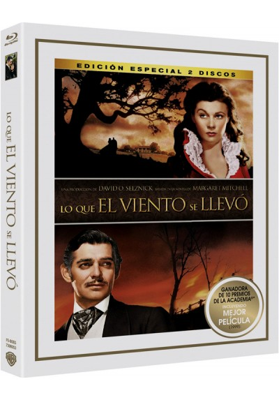 Lo Que El Viento Se Llevó (Blu-Ray) (Ed. Especial) (Gone With The Wind)