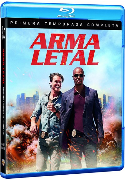 Arma Letal - 1ª Temporada (Blu-Ray) (Lethal Weapon)