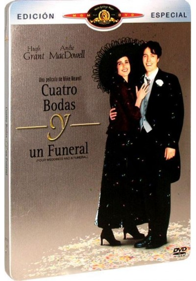 Cuatro Bodas y Un Funeral - Estuche Metálico (Four Weddings and a Funeral)