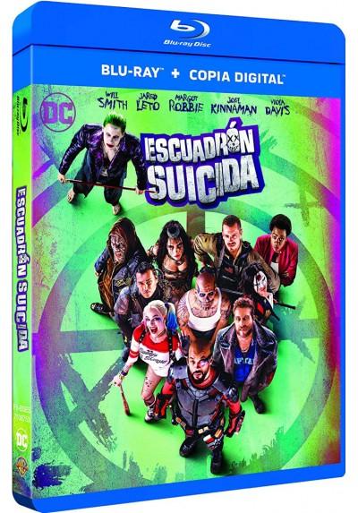 Escuadrón Suicida (Blu-Ray + Copia Digital) (Suicide Squad)