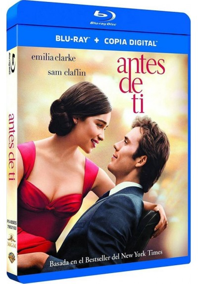 Antes De Ti (Blu-Ray + Copia Digital) (Me Before You)