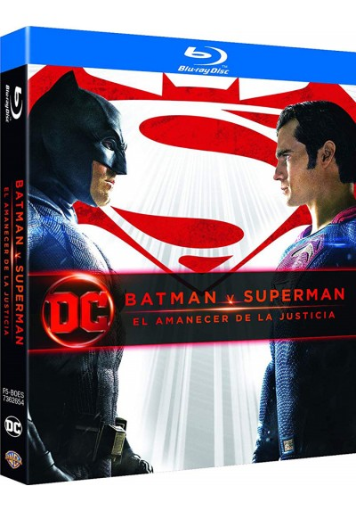 Batman V Superman: El Amanecer De La Justicia (Blu-Ray) (Ed. 2018) (Batman V Superman: Dawn Of Justice)