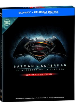 Batman V Superman: El Amanecer De La Justicia (Blu-Ray 3d+2d) (Ed. Libro) (Ed. 2018)
