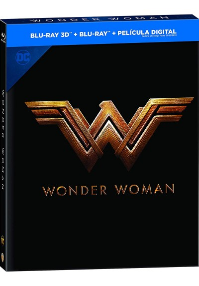 Wonder Woman (2017) (Blu-Ray 3d+2d) (Ed. Libro) (Ed. 2018)