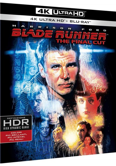 Blade Runner: Montaje Final (Blu-Ray 4k Ultra Hd + Blu-Ray + Copia Digital)