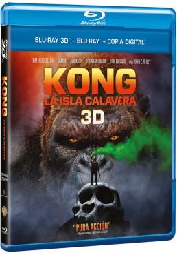 Kong: La Isla Calavera (Blu-Ray 3d + Blu-Ray + Copia Digital) (Kong: Skull Island)