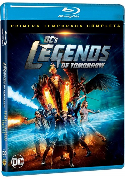 Dc´s Legends Of Tomorrow : 1ª Temporada (Blu-Ray)