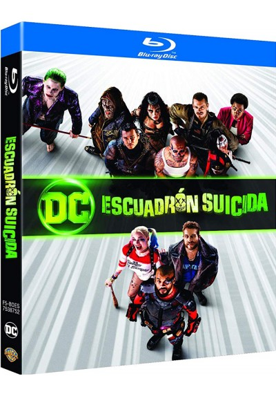 Escuadrón Suicida (Blu-Ray) (Ed. 2018) (Suicide Squad)