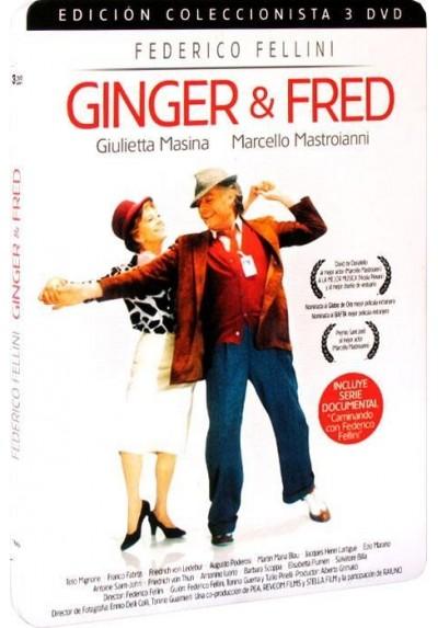 Ginger & Fred - Edición Coleccionista 3 Discos - Estuche Metálico (Ginger e Fred)
