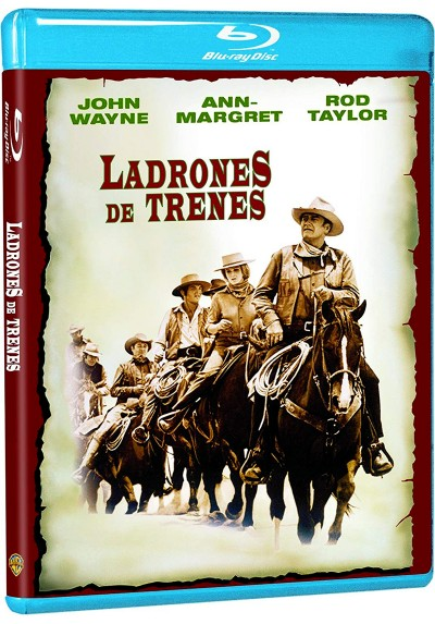 Ladrones De Trenes (Blu-Ray) (The Train Robbers)