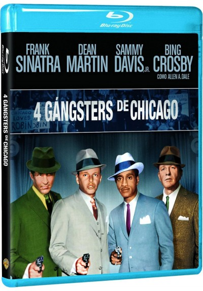 4 Gángsters De Chicago (Blu-Ray) (Robin And The 7 Hoods)