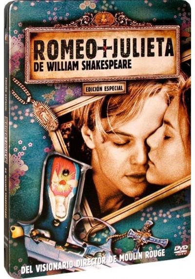 Romeo + Julieta de William Shakespeare - Estuche Metálico (Williams Shakespeare's Romeo and Juliet)