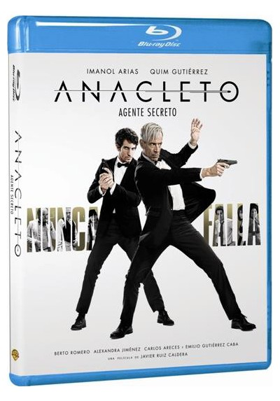 Anacleto, Agente Secreto (Blu-Ray)