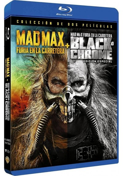 Mad Max : Furia En La Carretera + Black & Chrome (Ed. Especial) (Blu-Ray)  (Mad Max: Fury Road)