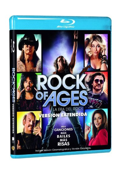 Rock Of Ages (La Era Del Rock) (Blu-Ray)