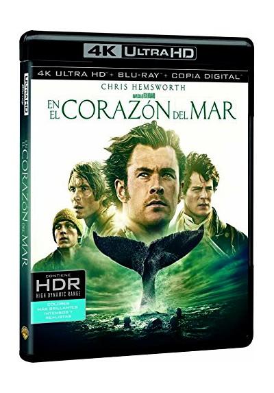En El Corazón Del Mar (Blu-Ray 4k Ultra Hd + Blu-Ray + Copia Digital) (In The Heart Of The Sea)