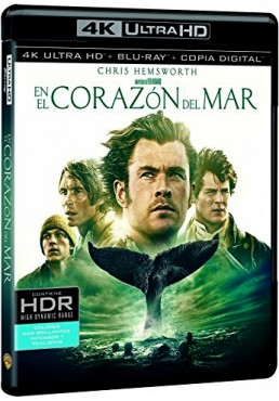 En El Corazón Del Mar (Blu-Ray 4k Ultra Hd + Blu-Ray + Copia Digital) (In The Heart Of The Sea)