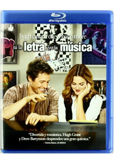 Tú La Letra, Yo La Música (Music And Lyrics) (Blu-Ray)