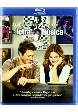 Tú La Letra, Yo La Música (Music And Lyrics) (Blu-Ray)