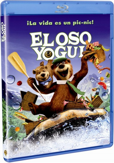 El Oso Yogui (2010) (Blu-Ray) (Yogi Bear)