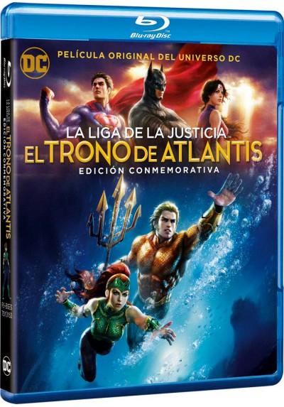 La Liga De La Justicia: El Trono De Atlantis (Blu-Ray) (Ed. 2018) (Justice League)
