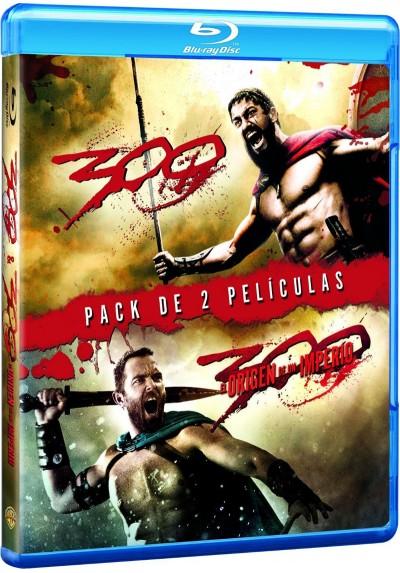 Pack 300 / 300, El Origen De Un Imperio (Blu-ray)