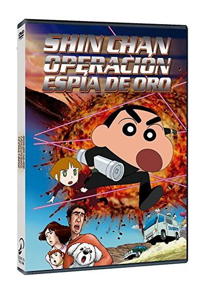 Shin Chan: Operación Espía De Oro (Crayon Shin-Chan: Arashi O Yobu Ôgon No Spy Daisakusen)