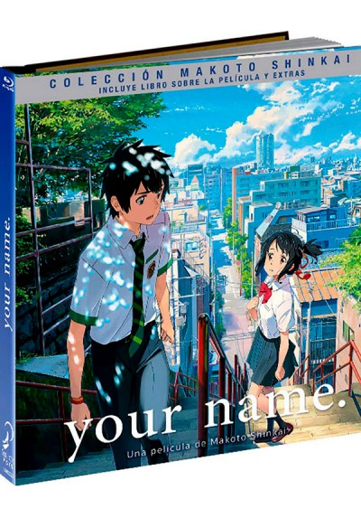 Your Name (Blu-Ray + Extras + Libreto) (Ed. Libro) (Kimi No Na Wa)