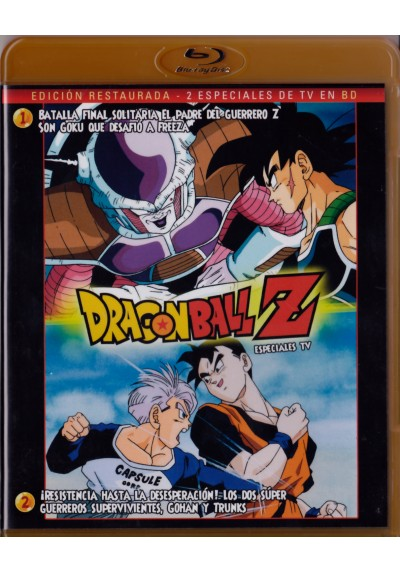 Dragon Ball Z - Especiales De Tv (Blu-Ray)
