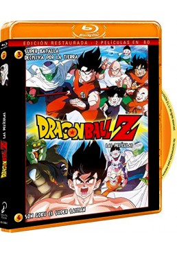 Dragon Ball Z - Vol. 2 : Super Batalla Decisiva Por La Tierra / Son Goku El Super Saiyan (Blu-Ray)