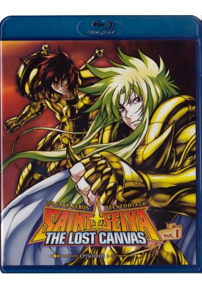 Saint Seiya: Los Caballeros Del Zodiaco - The Lost Canvas - Vol.1 (Blu-Ray)