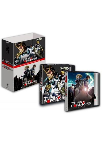 Terraformars + Terraformars Revenge - Serie Completa (DVD))