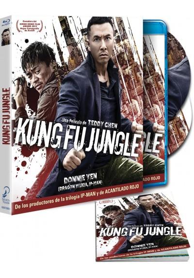 Kung Fu Jungle (Blu-Ray + Dvd + Dvd extras + Libro) (Yi Ge Ren De Wu Lin)