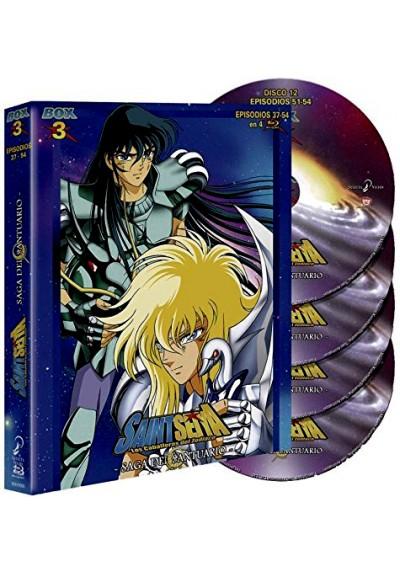 Saint Seiya: Los Caballeros Del Zodiaco - Box 3 (Blu-ray)