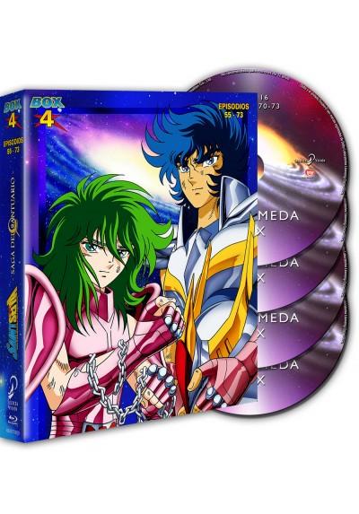 Saint Seiya: Los Caballeros Del Zodiaco - Box 4 (Blu-Ray)