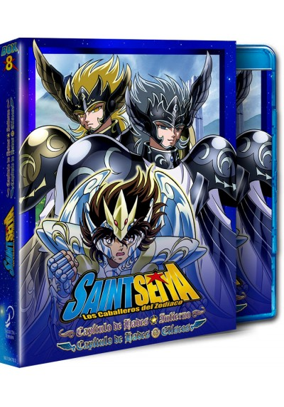 Saint Seiya: Hade Inferno y Eliseos- Box 8 (Blu-Ray)