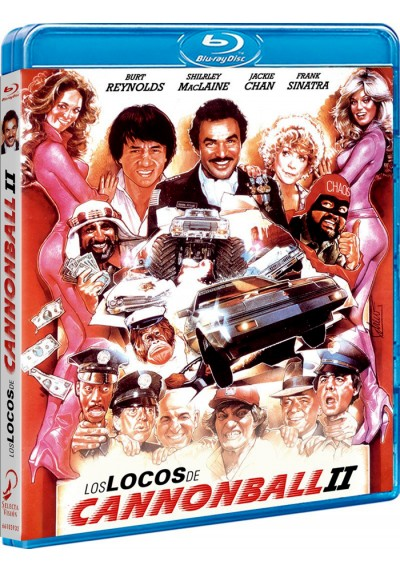 Los Locos De Cannon Ball 2 (Blu-Ray) (The Cannonball Run)