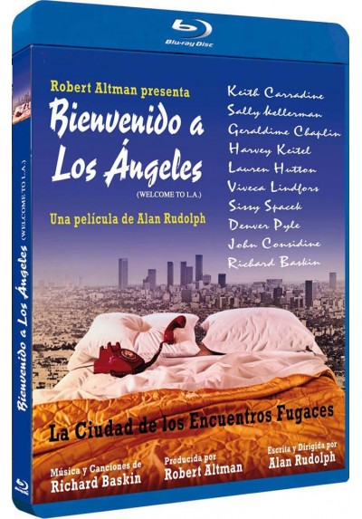 Bienvenido A Los Ángeles (Welcome To L.A.) (Blu-Ray) (Bd-R)