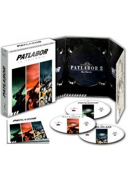 Patlabor - Trilogía (Blu-Ray + Extras + Libro) (Ed. Coleccionista)