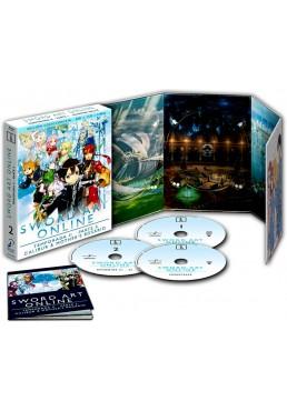 Sword Art Online: 2ª Temporada - 2ª Parte (Blu-Ray + Banda Sonora + Libro) (Ed. Coleccionista)