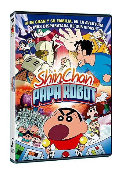 Shin Chan: Papá Robot (Kureyon Shin-Chan: Gachinko! Gyakushu No Robo To-Chan)