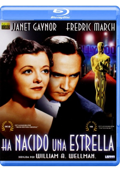 Ha Nacido Una Estrella (1937) (Blu-Ray) (A Star Is Born)