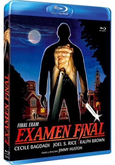 Examen final (Blu-Ray) (Final Exam)