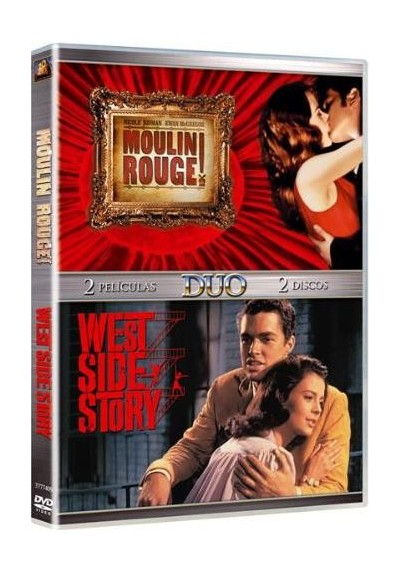 Pack Dúo: Moulin Rouge + West Side Story