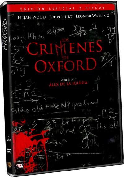 Los Crímenes De Oxford (Ed. Limitada + Libro) (The Oxford Murders)