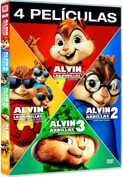 Alvin Y Las Ardillas (1-4)
