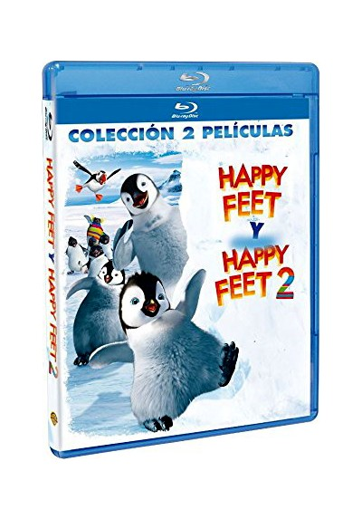 Pack Happy Feet / Happy Feet 2 (Blu-Ray)