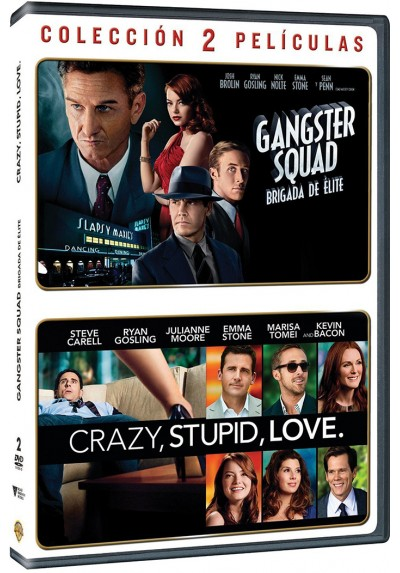 Pack Gangster Squad / Crazy, Stupid, Love