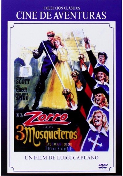 El Zorro Y Los Tres Mosqueteros (Zorro E l Tre Moschettieri)